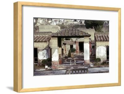 The House of the Stags, Herculaneum, Italy. Artist: Unknown-Unknown-Framed Giclee Print
