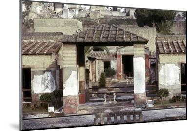 The House of the Stags, Herculaneum, Italy. Artist: Unknown-Unknown-Mounted Giclee Print