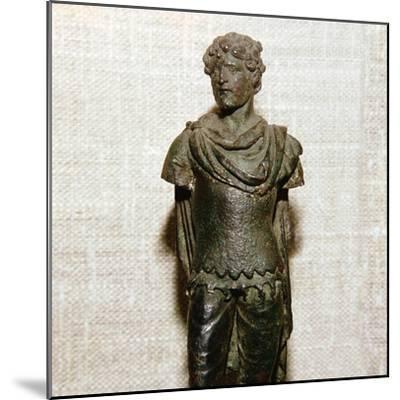 Gaullish prisoner, Roman bronze statuette, c1st century. Artist: Unknown-Unknown-Mounted Giclee Print