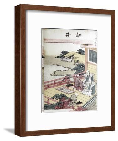 Printmakers, Japanese. Artist: Unknown-Unknown-Framed Giclee Print