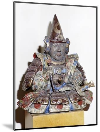 Figure of a Samurai warrior, Japanese. Artist: Unknown-Unknown-Mounted Giclee Print