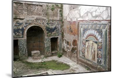 Interior garden-room in the House of Neptune, Herculaneum, Italy. Artist: Unknown-Unknown-Mounted Giclee Print