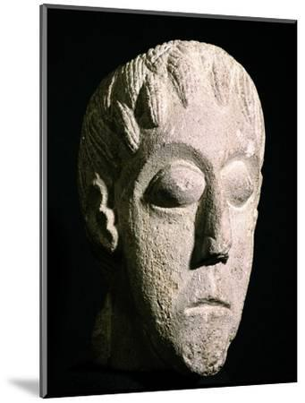 Celtic head, Bon Marche site, Gloucester, England. Artist: Unknown-Unknown-Mounted Giclee Print