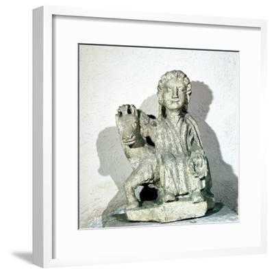 Epona, Celtic Goddess, Roman period. Artist: Unknown-Unknown-Framed Giclee Print