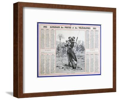 French Foreign Legion, 1913. Artist: Unknown-Unknown-Framed Giclee Print