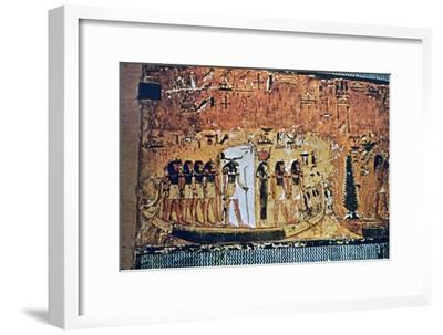 Tomb of Seti I, Valley of the Kings, Egypt, 13th century BC. Artist: Unknown-Unknown-Framed Giclee Print