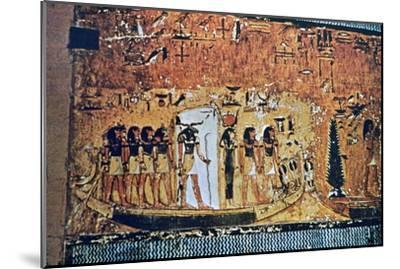Tomb of Seti I, Valley of the Kings, Egypt, 13th century BC. Artist: Unknown-Unknown-Mounted Giclee Print