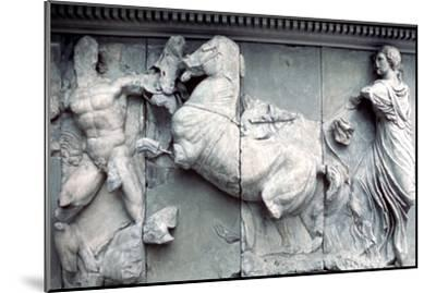 Detail from the Great Frieze of the Pergamon Altar, 180-159 BC. Artist: Unknown-Unknown-Mounted Giclee Print