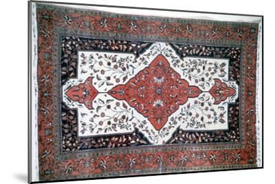 Sarouk rug, Persia. Artist: Unknown-Unknown-Mounted Giclee Print