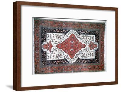 Sarouk rug, Persia. Artist: Unknown-Unknown-Framed Giclee Print