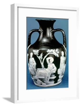 The Portland Vase, c5-25 AD. Artist: Unknown-Unknown-Framed Giclee Print
