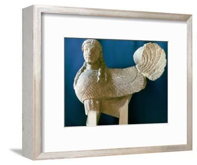 Sphinx from Cyprus, 6th century BC. Artist: Unknown-Unknown-Framed Giclee Print