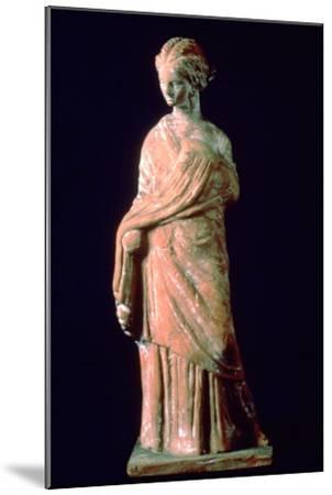 Figure of a woman, Greek, 3rd century. Artist: Unknown-Unknown-Mounted Giclee Print