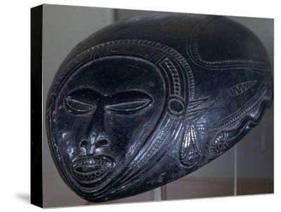 Melanesian bowl, Tami Island, Papua New Guinea, 20th century. Artist: Unknown-Unknown-Stretched Canvas Print