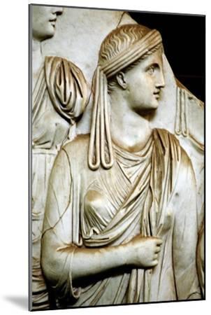 Vestal virgin, Roman, 1st century AD. Artist: Unknown-Unknown-Mounted Giclee Print
