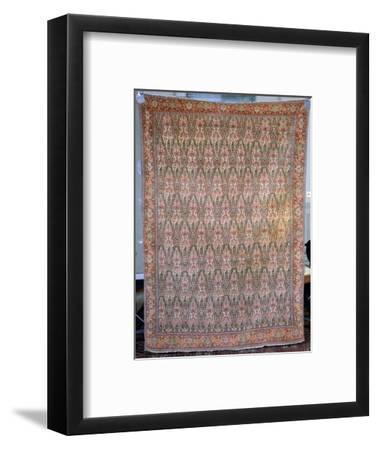Senneh carpet, Iran, 19th century. Artist: Unknown-Unknown-Framed Giclee Print