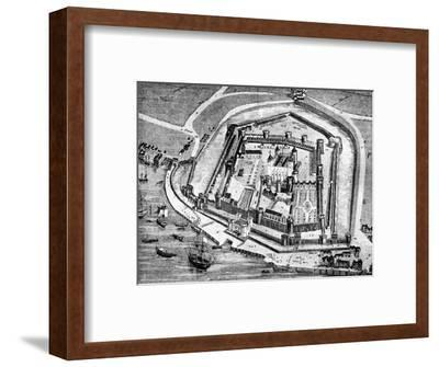 Tower of London, 16th century (1909). Artist: Unknown-Unknown-Framed Giclee Print