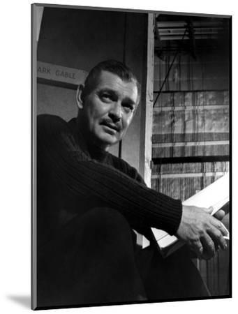 Clark Gable, Academy Award-winning American film actor. Artist: Unknown-Unknown-Mounted Photographic Print