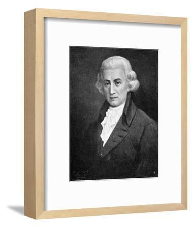 Franz Joseph Haydn, (1732-1809), leading composer of the Classical period, 1909. Artist: Unknown-Unknown-Framed Giclee Print