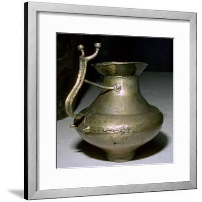 Celtic Bronze Jug, 8th century.-Unknown-Framed Giclee Print