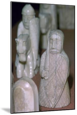 The Lewis Chessmen, (Norwegian?), c1150-c1200. Artist: Unknown-Unknown-Mounted Giclee Print