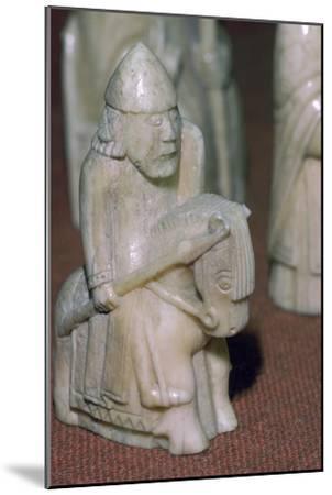 The Lewis Chessmen, (Norwegian?), c1150-c1200. Artist: Unknown-Unknown-Mounted Giclee Print