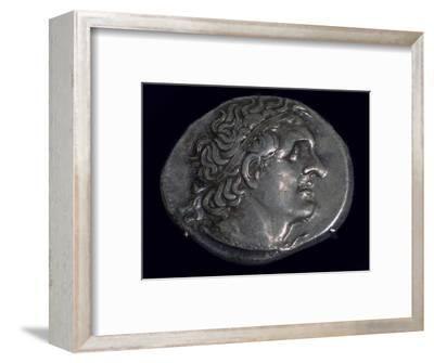 Tetradrachm of King Ptolemy I of Egypt (387-283BC), c305-282 BC. Artist: Unknown-Unknown-Framed Giclee Print
