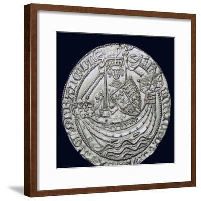 Gold Noble of Henry VI, 15th century. Artist: Unknown-Unknown-Framed Giclee Print