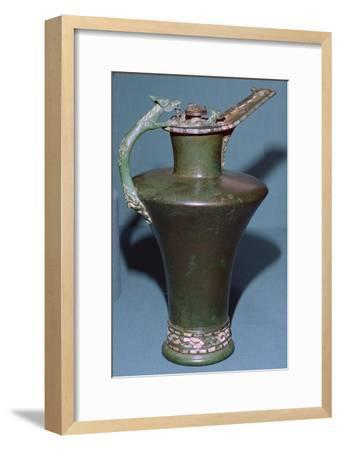 Celtic bronze flagon from France, 5th century BC Artist: Unknown-Unknown-Framed Giclee Print