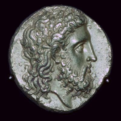 Gold Stater of King Alexander I of Epirus, 4th century BC. Artist: Unknown-Unknown-Framed Giclee Print