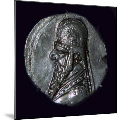 Drachma of King Mithridates II of Parthia, c1st century BC. Artist: Unknown-Unknown-Mounted Giclee Print
