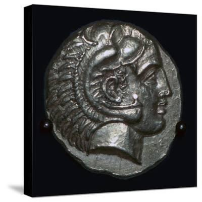 Gold Stater of Phillip II of Macedon, 4th century BC Artist: Unknown-Unknown-Stretched Canvas Print