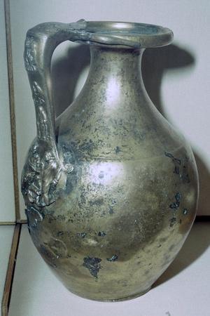 Roman bronze jug. Artist: Unknown-Unknown-Framed Giclee Print