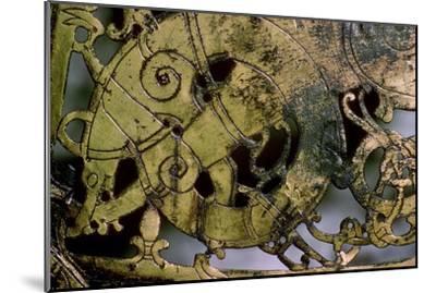 Viking bronze Weather-Vane, 10th-11th century. Artist: Unknown-Unknown-Mounted Giclee Print
