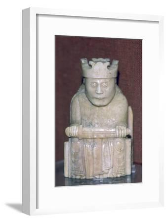 The Lewis Chessmen, (Norwegian?), c1150-c1200. Artist: Unknown-Unknown-Framed Giclee Print