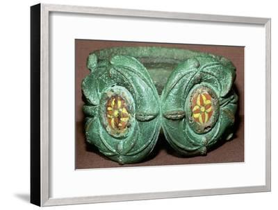 Celtic bronze armlet from Scotland. Artist: Unknown-Unknown-Framed Giclee Print