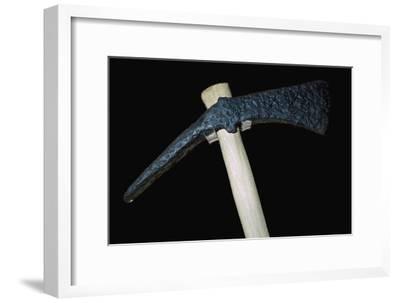 Roman bronze axe. Artist: Unknown-Unknown-Framed Giclee Print
