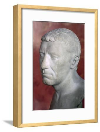 Bust of Corbulo, 1st century. Artist: Unknown-Unknown-Framed Giclee Print