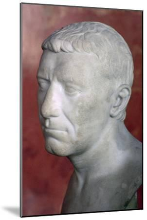 Bust of Corbulo, 1st century. Artist: Unknown-Unknown-Mounted Giclee Print