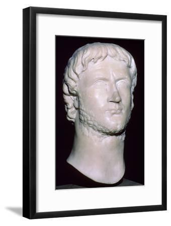 Bust of Gallienus, 3rd century. Artist: Unknown-Unknown-Framed Giclee Print