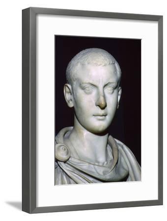 Bust of Gordian III, 3rd century. Artist: Unknown-Unknown-Framed Giclee Print