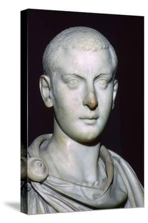 Bust of Gordian III, 3rd century. Artist: Unknown-Unknown-Stretched Canvas Print