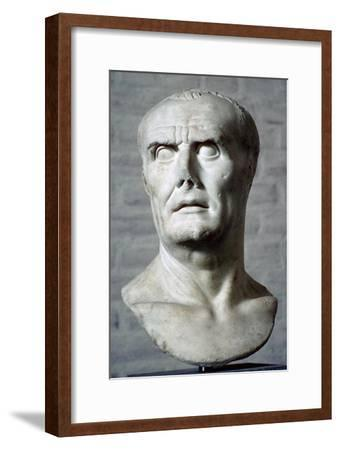 Bust of Sulla. Artist: Unknown-Unknown-Framed Giclee Print