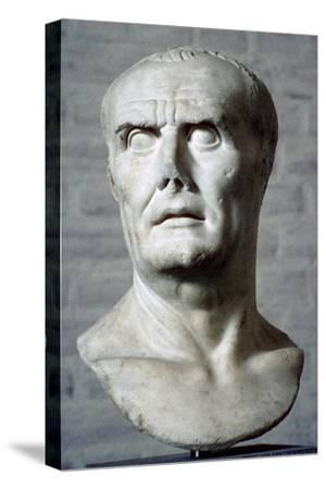 Bust of Sulla. Artist: Unknown-Unknown-Stretched Canvas Print