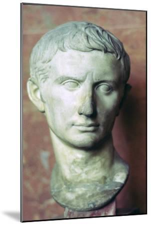 Bust of Augustus, 1st century BC. Artist: Unknown-Unknown-Mounted Giclee Print