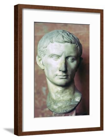 Bust of Augustus, 1st century BC. Artist: Unknown-Unknown-Framed Giclee Print