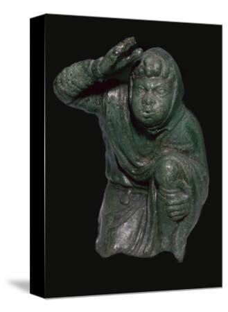 Statuette of a slave kneeling. Artist: Unknown-Unknown-Stretched Canvas Print