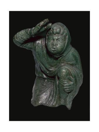 Statuette of a slave kneeling. Artist: Unknown-Unknown-Framed Giclee Print