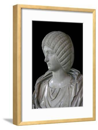 Bust of Julia Domna. Artist: Unknown-Unknown-Framed Giclee Print