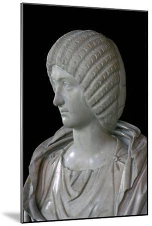 Bust of Julia Domna. Artist: Unknown-Unknown-Mounted Giclee Print